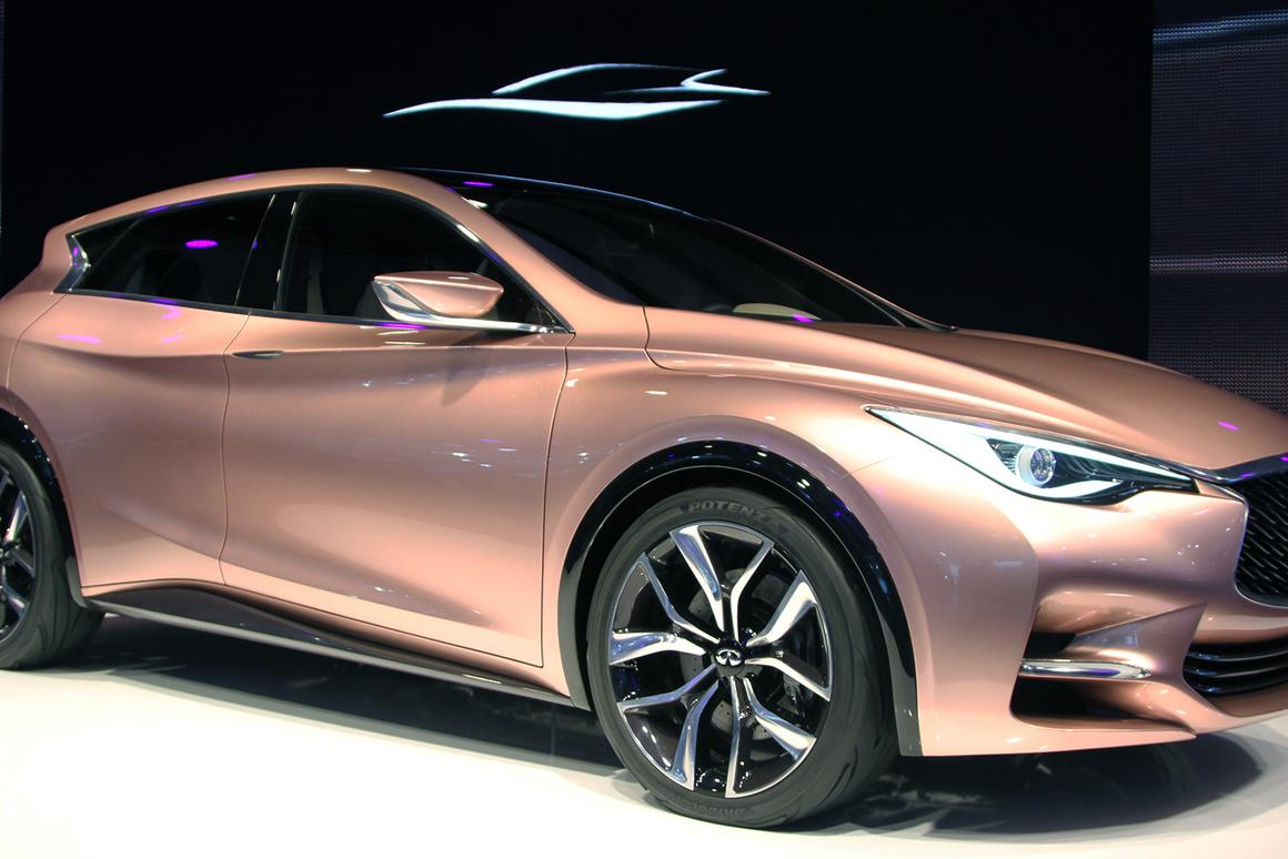 Infiniti unveils its Q30 concept (Photo: Gizmag)