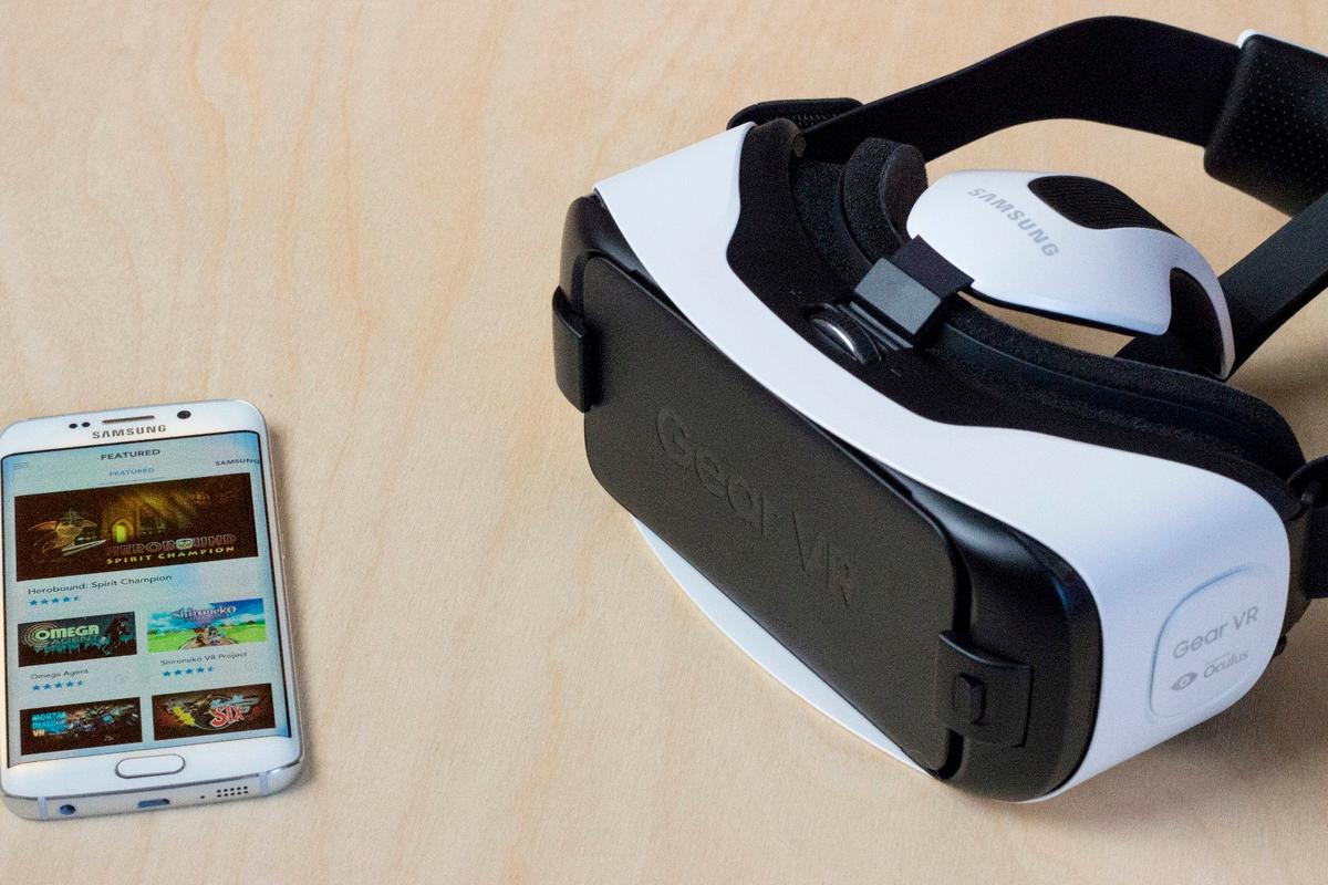 "The Gear VR for S6 (shown) is the best virtual reality headset you can buy today, but how will the upcoming ""full consumer"" version move forward?"