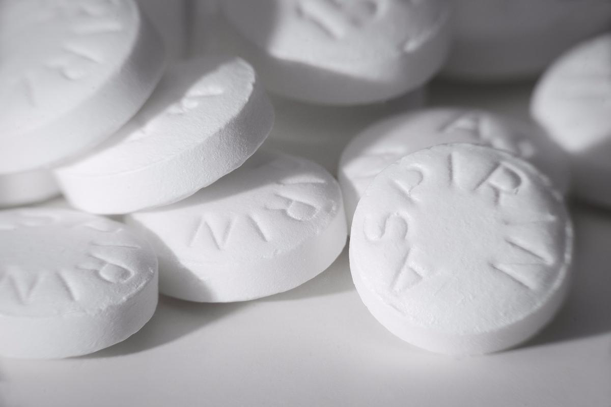 Those patients who started using aspirin after their diagnosis were twice as likely to be alive after four years as those who did not
