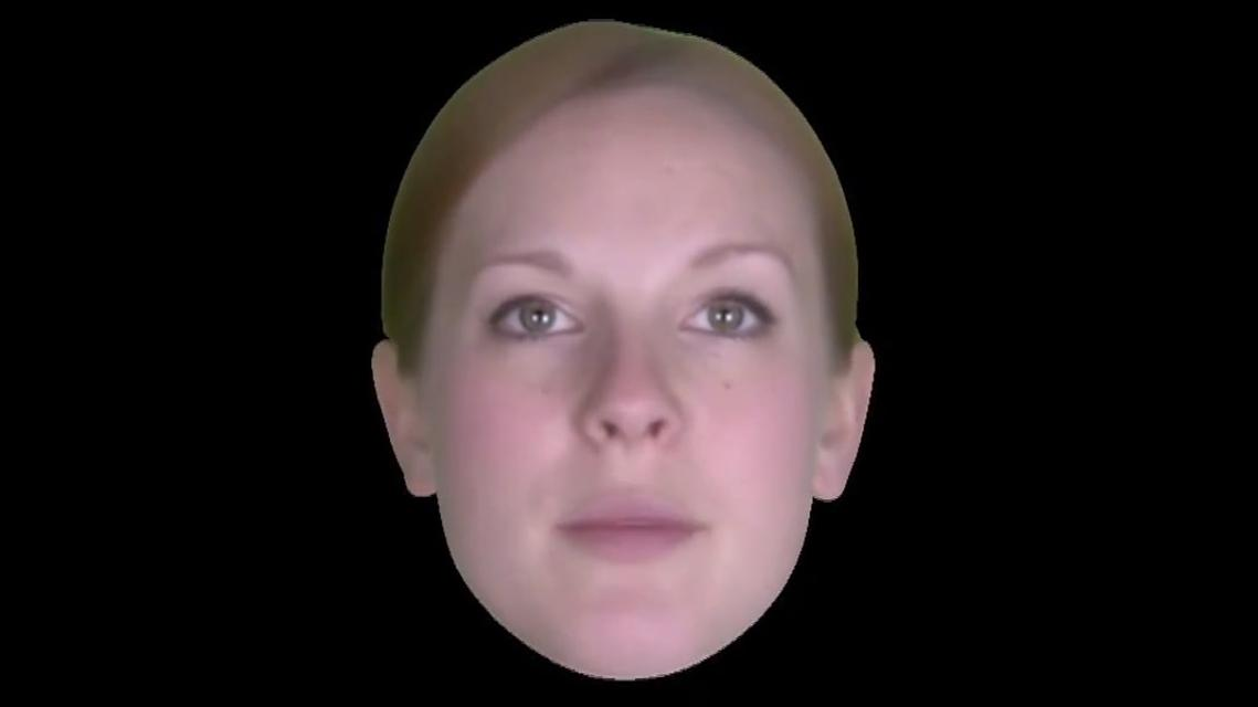 Meet Zoe - a virtual talking head capable of expressing human emotions