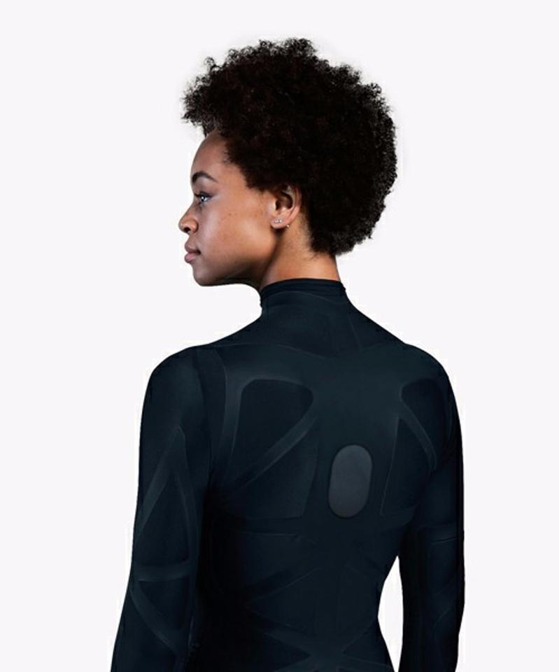 The ZozoSuitcontains over 150 integrated capacitive stretch sensors