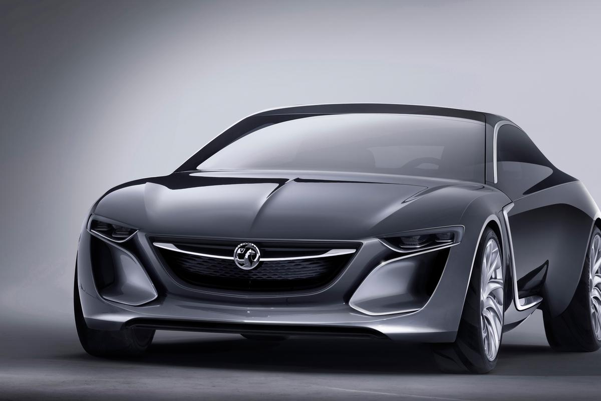 The Vauxhall Monza Concept will be presented at the Frankfurt Motor Show in September