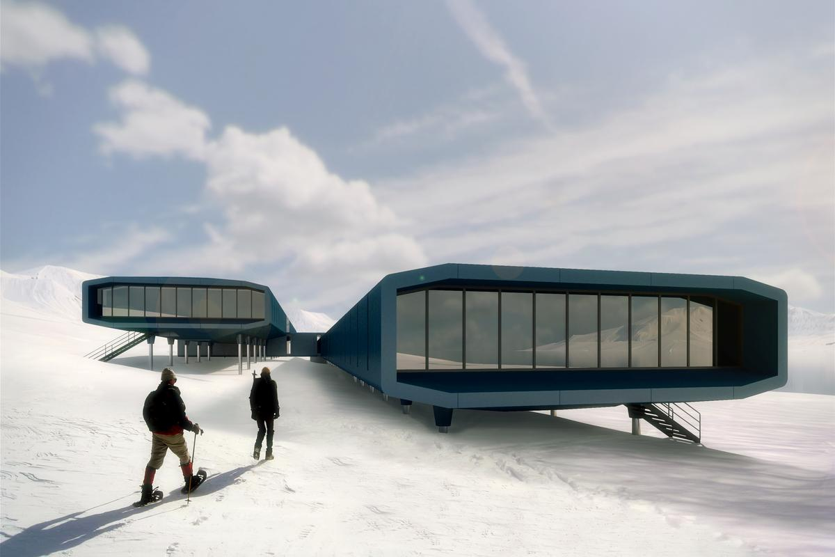Estúdio 41 has won the bid to design the new Brazilian base in Antarctica which will replace the one destroyed by a fire in 2012