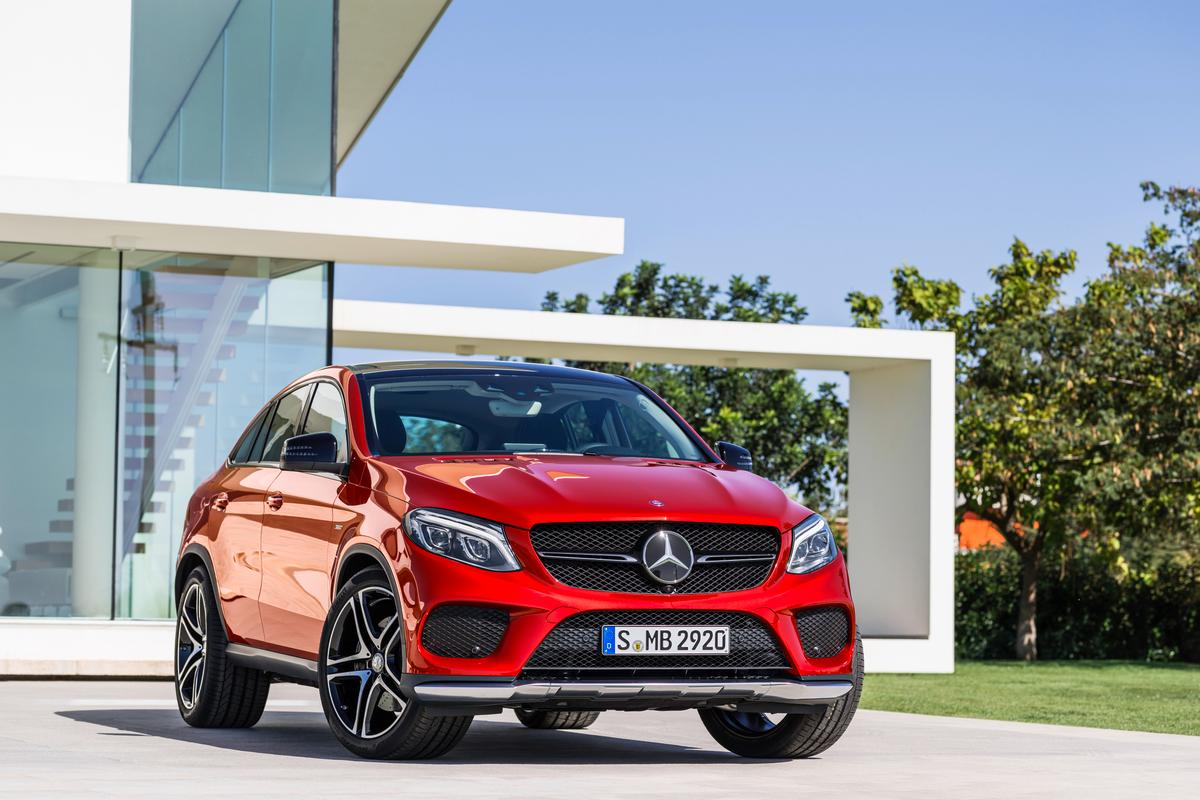 The new Mercedes GLE Coupe