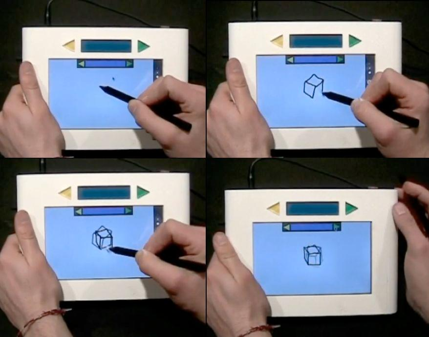 The Scribble is an electronic doodle pad that animates your drawings