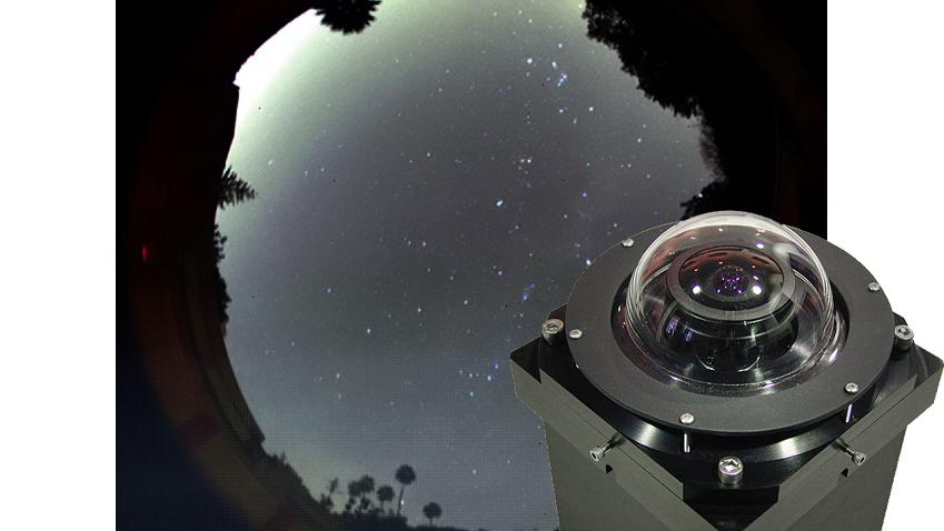 The SBIG AllSky cameras provide horizon-to-horizon imaging for meteor watching and weather monitoring