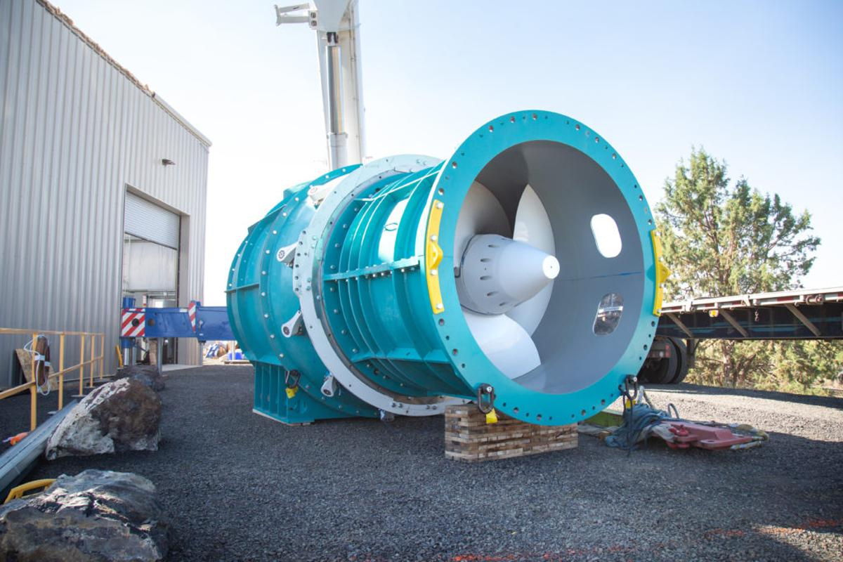 The RHT turbine is designed to be built into new hydroelectric projects, or retrofitted into existing ones