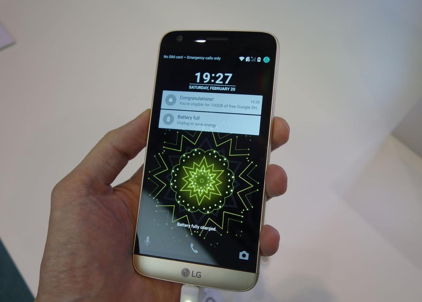 Hands-on with the LG G5, the first modular flagship smartphone