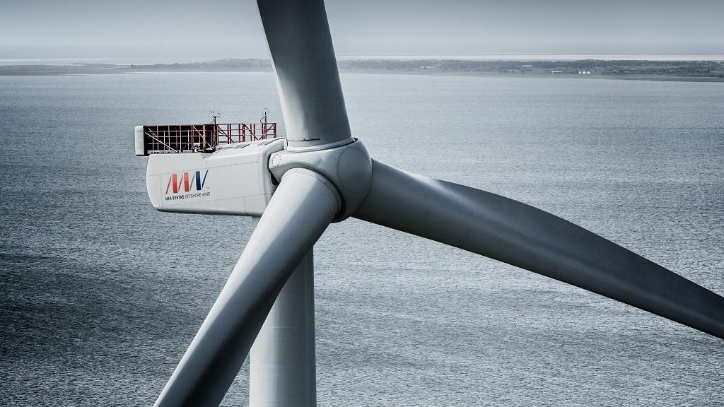 The world's largest wind turbine from Danish company MHI Vestas Offshore Wind sets 9MW energy generation record