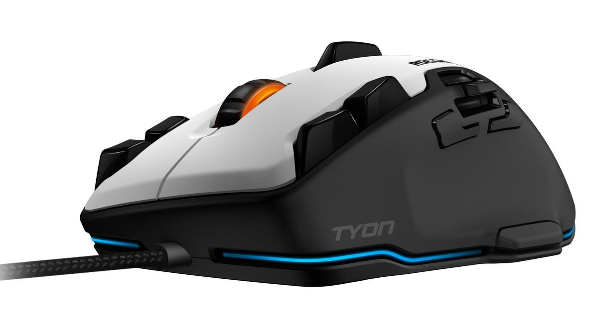 Roccat's Tyon packs in new controls to help you gain the gaming edge