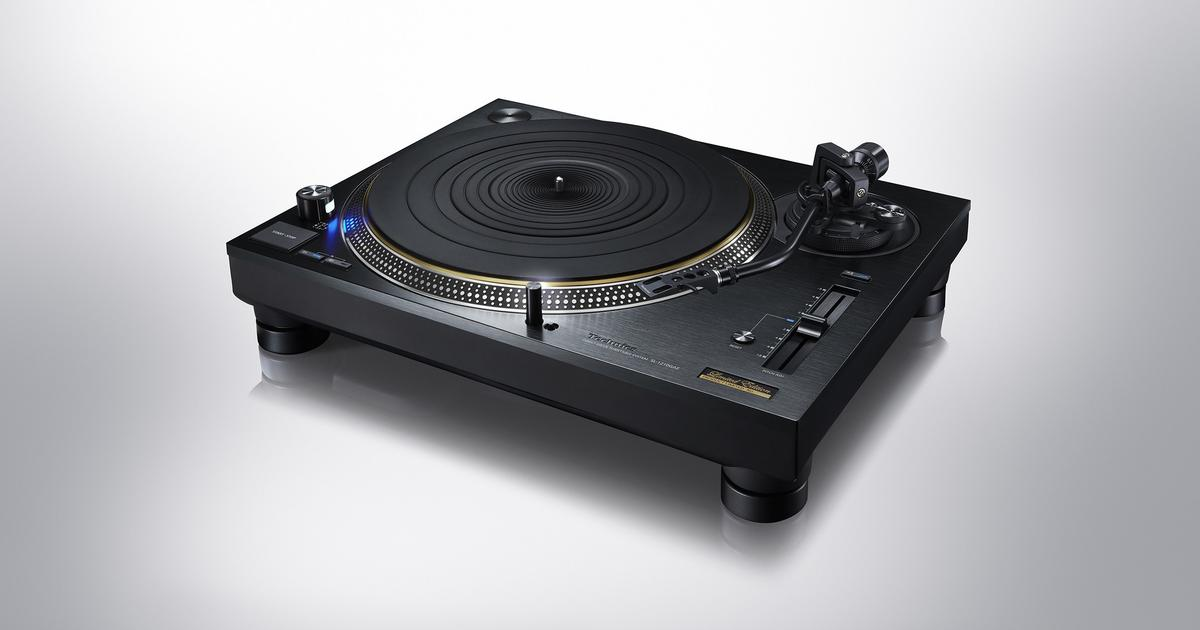 Panasonic celebrates 55 years of Technics with limited turntable