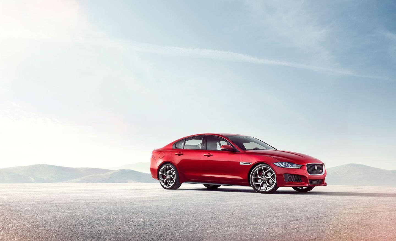 Jaguar's new XE uses aluminum throughout its bodyshell