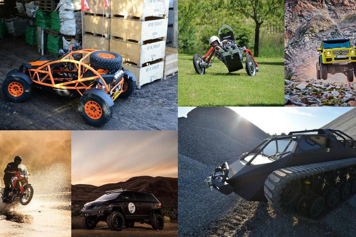 The 10 Wildest Off Road Vehicles Of 2015