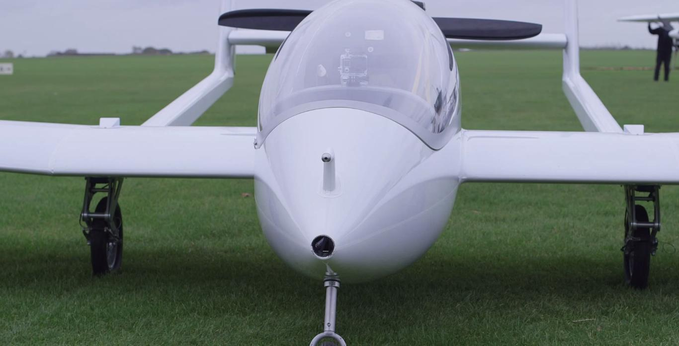 The aircraft is said to be the first capable of recharging its batteries in flight (Photo: University of Cambridge)