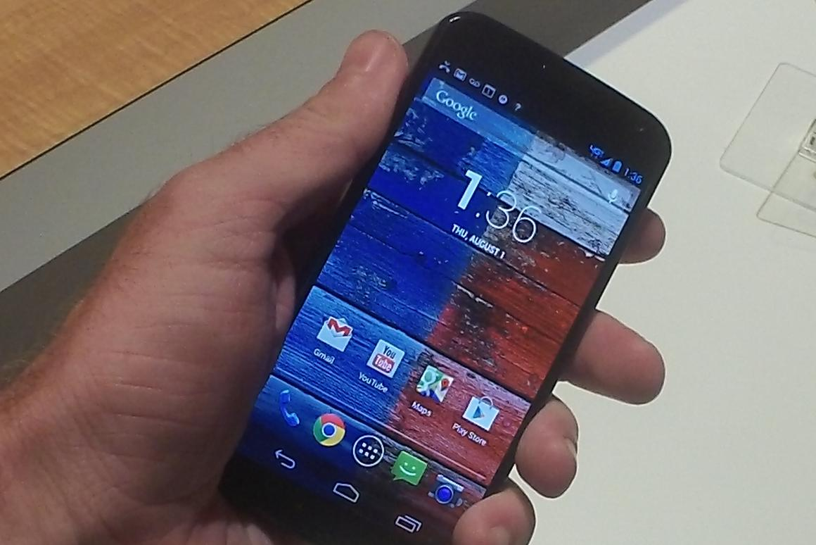 The Moto X doesn't sport smoking specs, just a few killer features