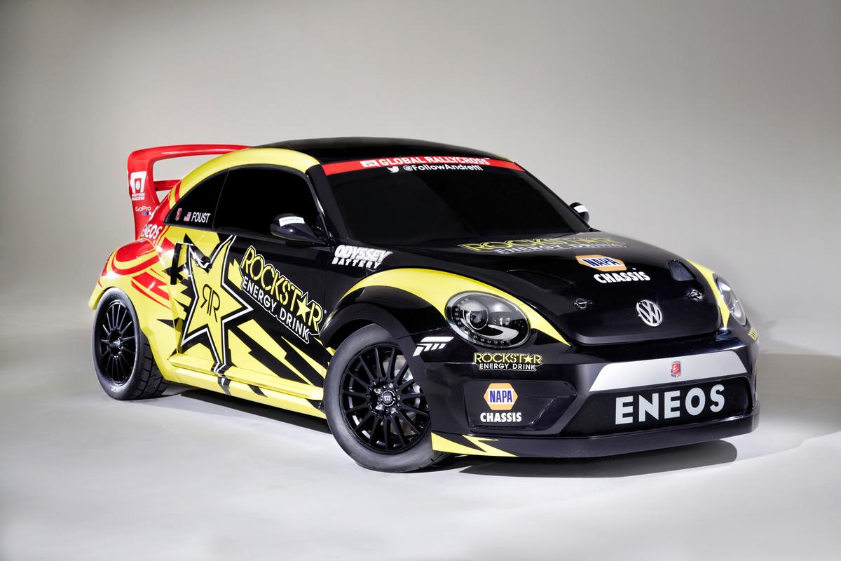 The GRC Beetle that will be tearing up the rallycross track later this year