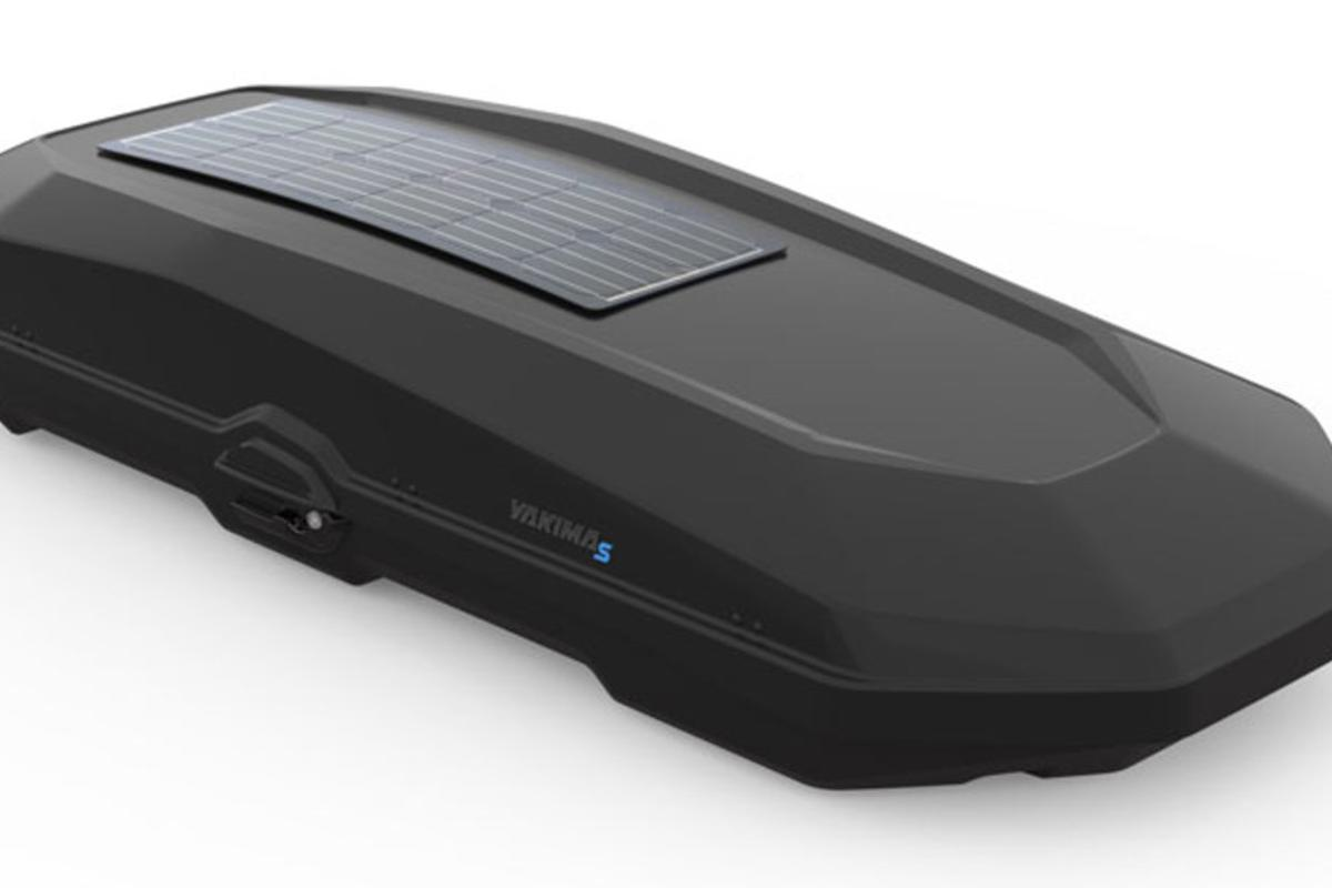 In addition to its integrated solar panel, the CBX Solar features modernized styling and a new shell texture