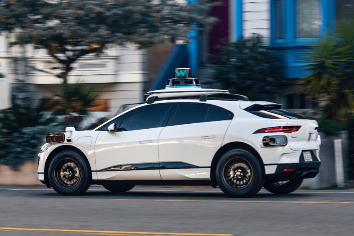 Waymo has already built its first Waymo Driver systems into its electric Jaguar I-PACEs