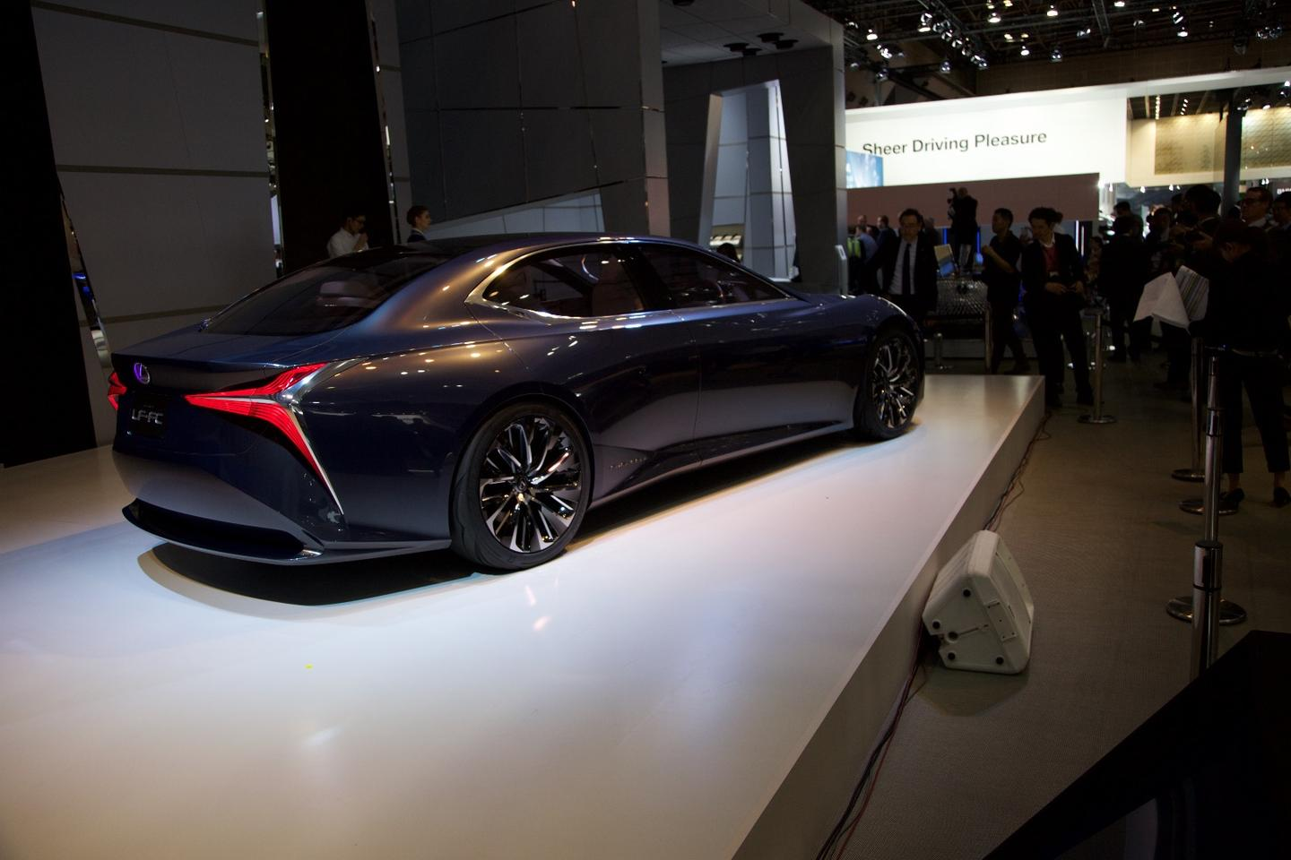 The LF-FC is borne out of Lexus' L-finesse design philosophy