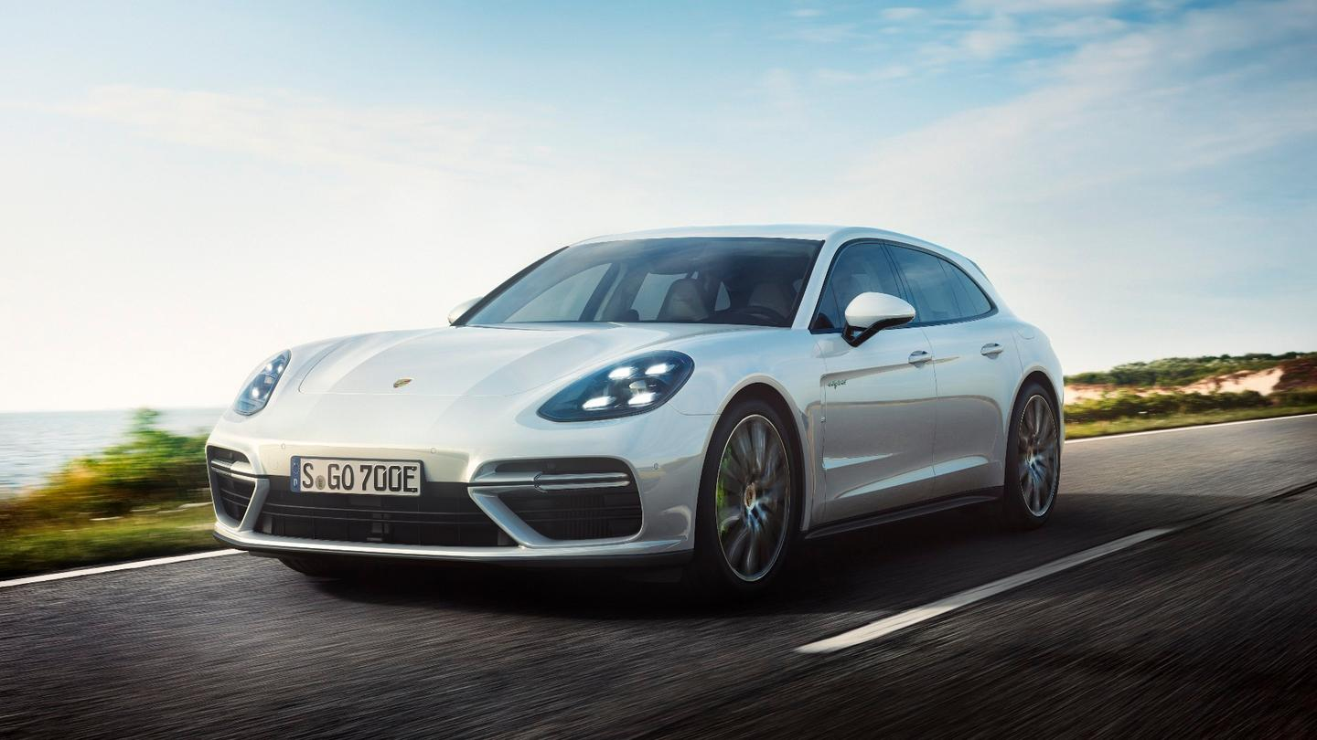 The Panamera Sport Turismo Turbo S E-Hybrid looks like a regular Sport Turismo