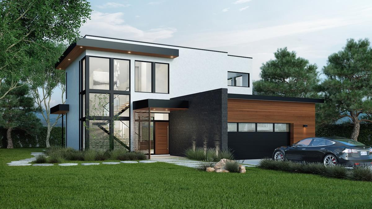 TheJacobson Residence will cover3,200sq ft (297sq m)