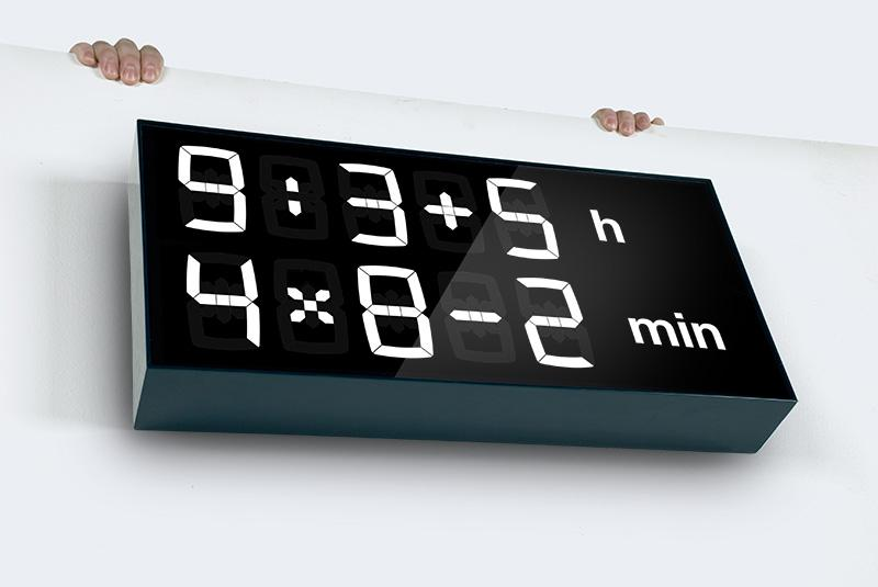 Albert clock uses math to tell the time