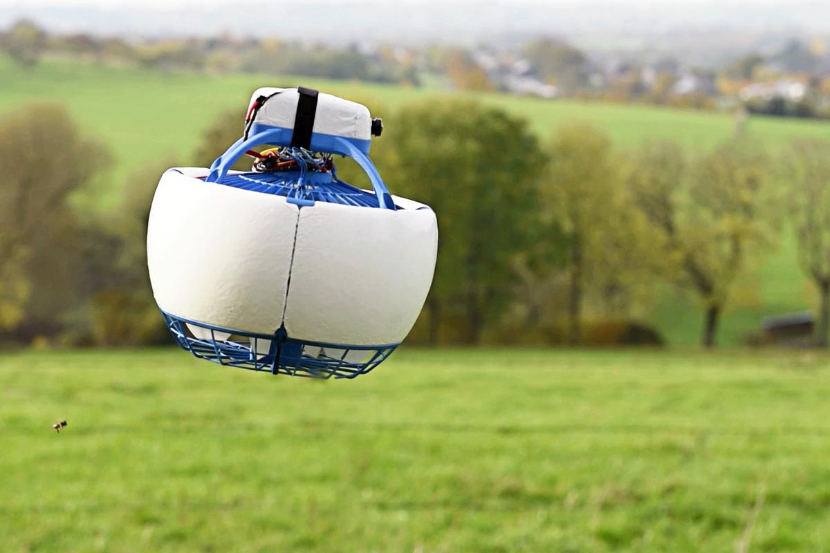 To get the Fleye to fly, the Belgium-based development team has launched on Kickstarter