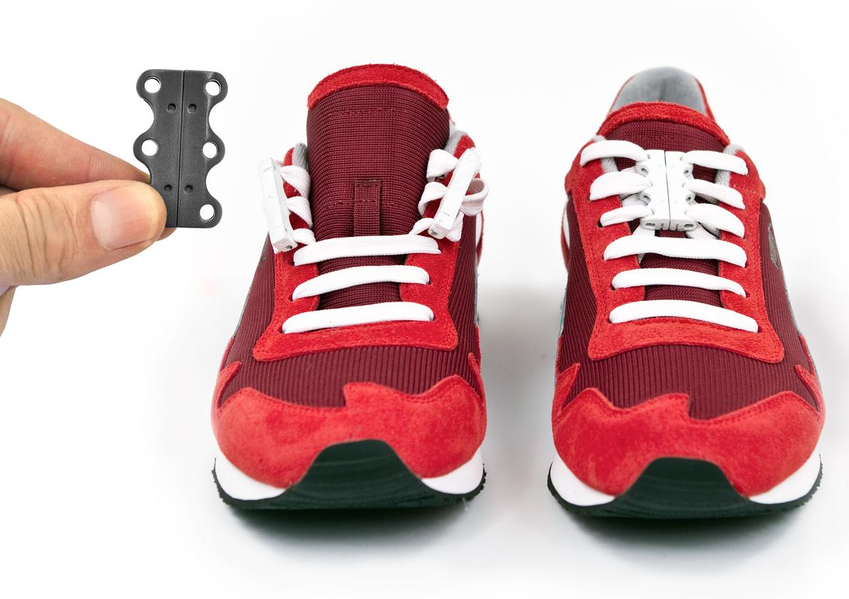 Zubits can reportedly be applied to pretty much any existing laced shoes