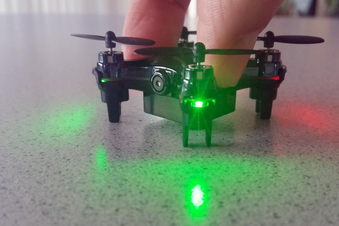 Although tiny, the Axis Drones Vidius packs some power and fun features