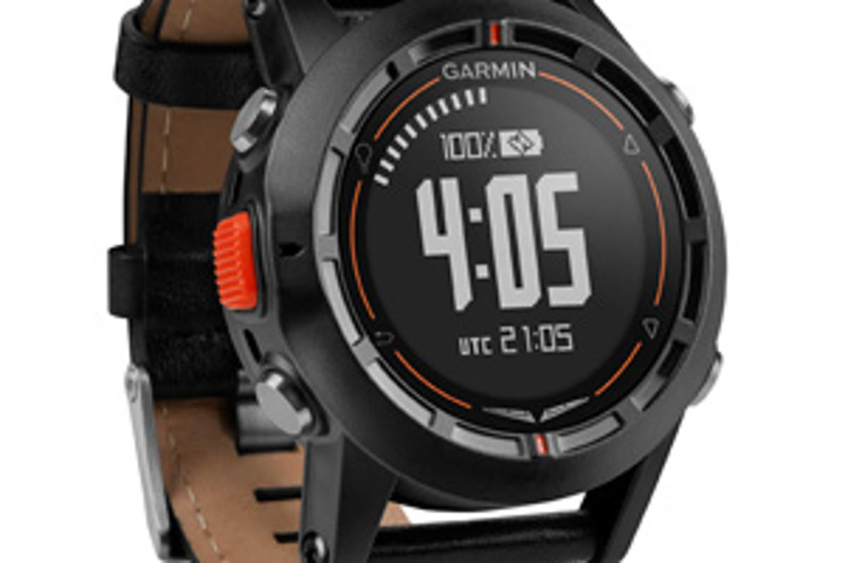 The Garmin D2 pilot watch is billed as a wrist-mounted avionics package