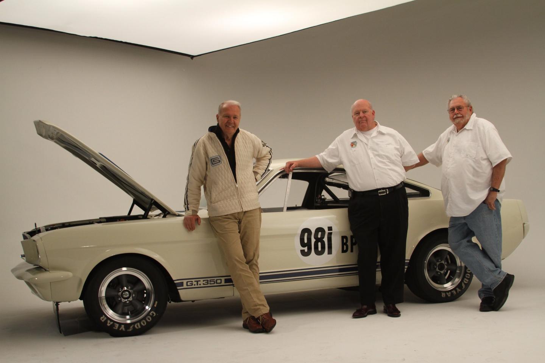The Original Venice Crew alongside a GT350R