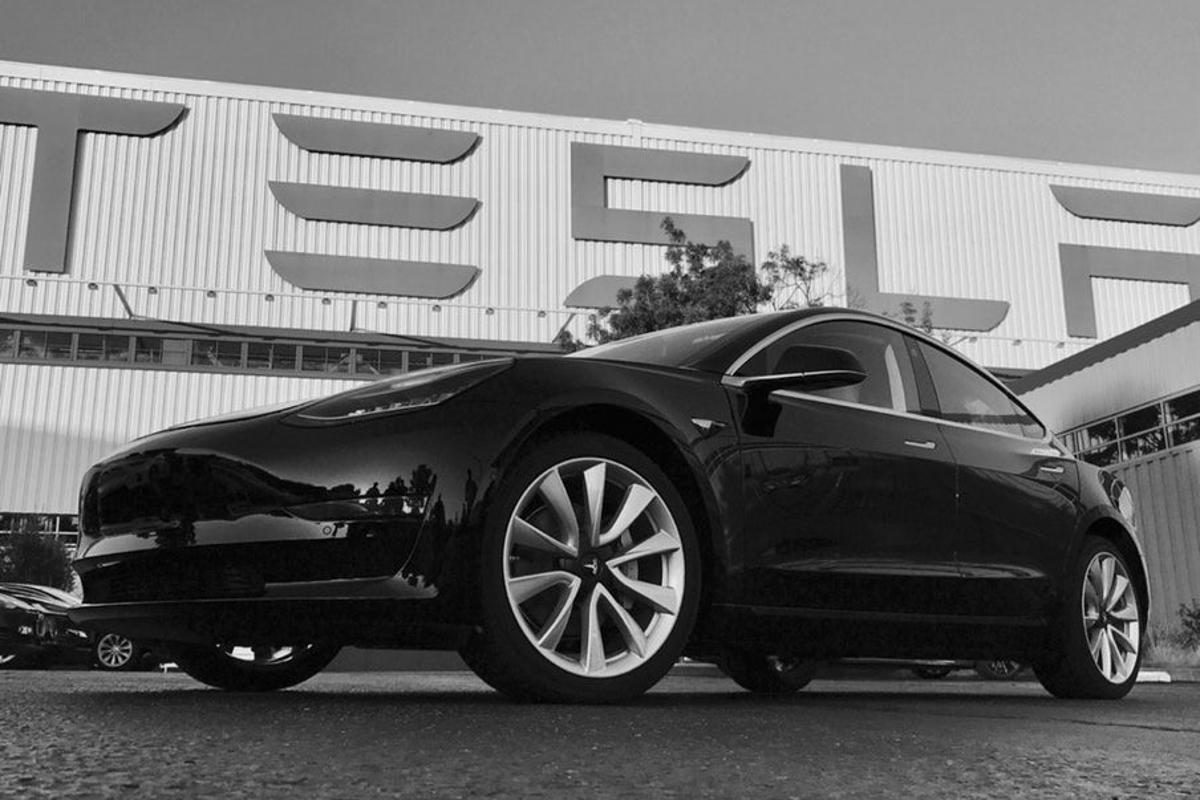 Tesla believes it is well placed to ramp up production of the Model 3