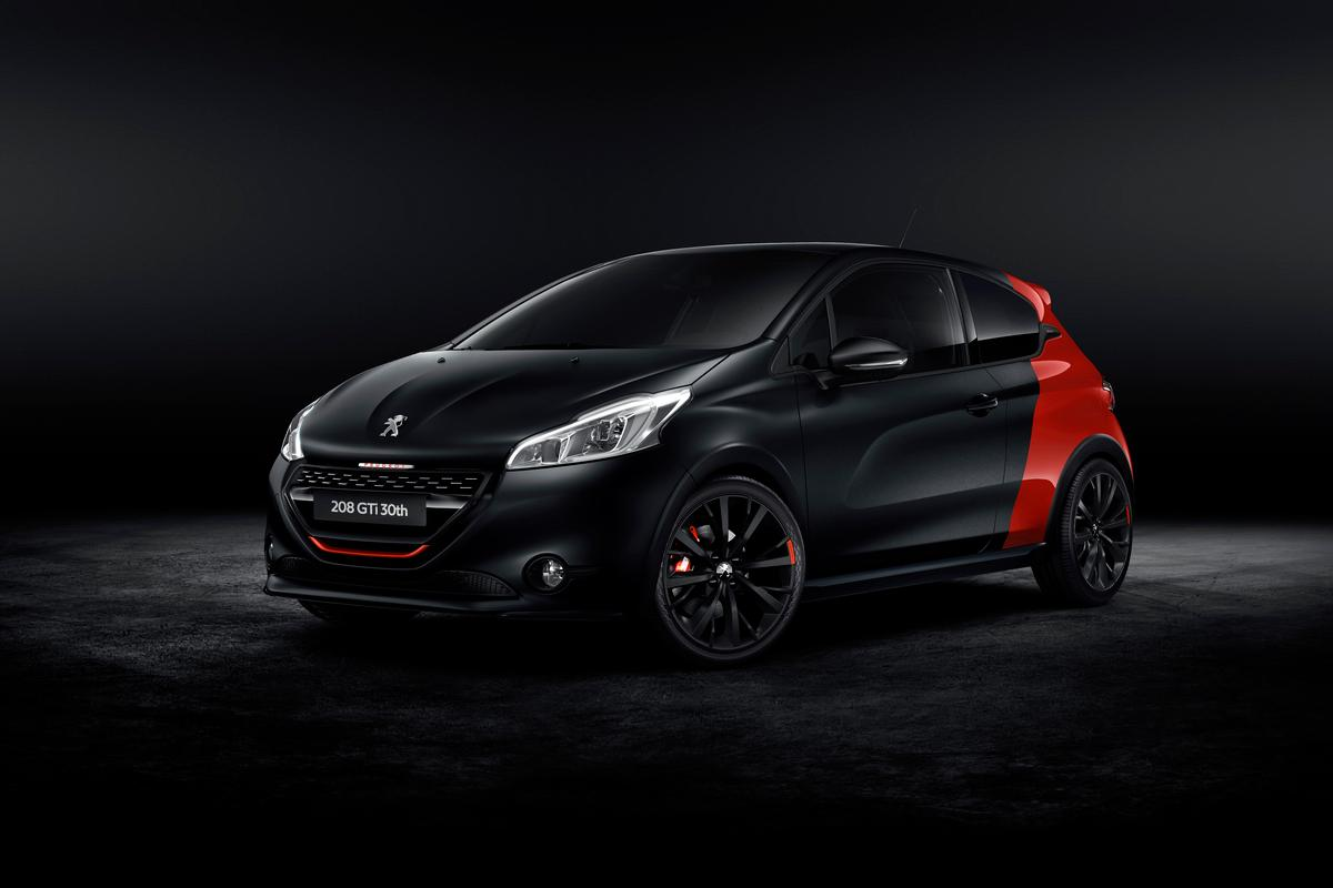 The Peugeot 208 GTi 30th Anniversary