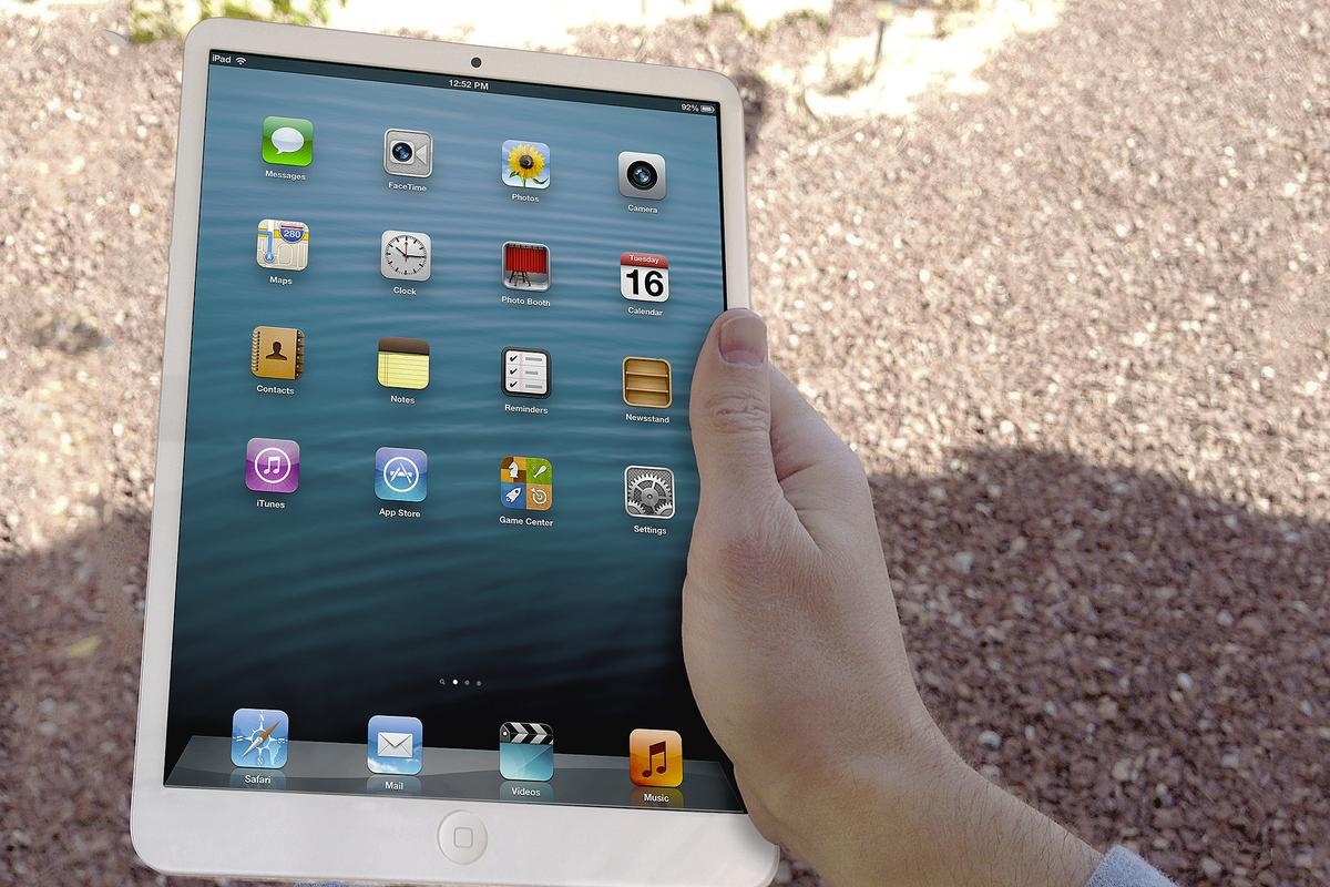 The next iPad is rumored to look like a larger version of the iPad mini