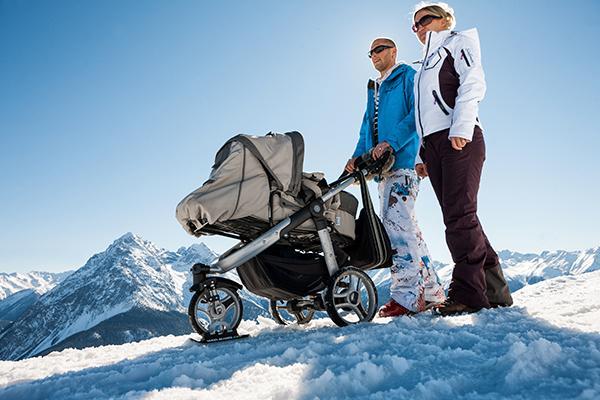 Wheelblades also work with stroller wheels