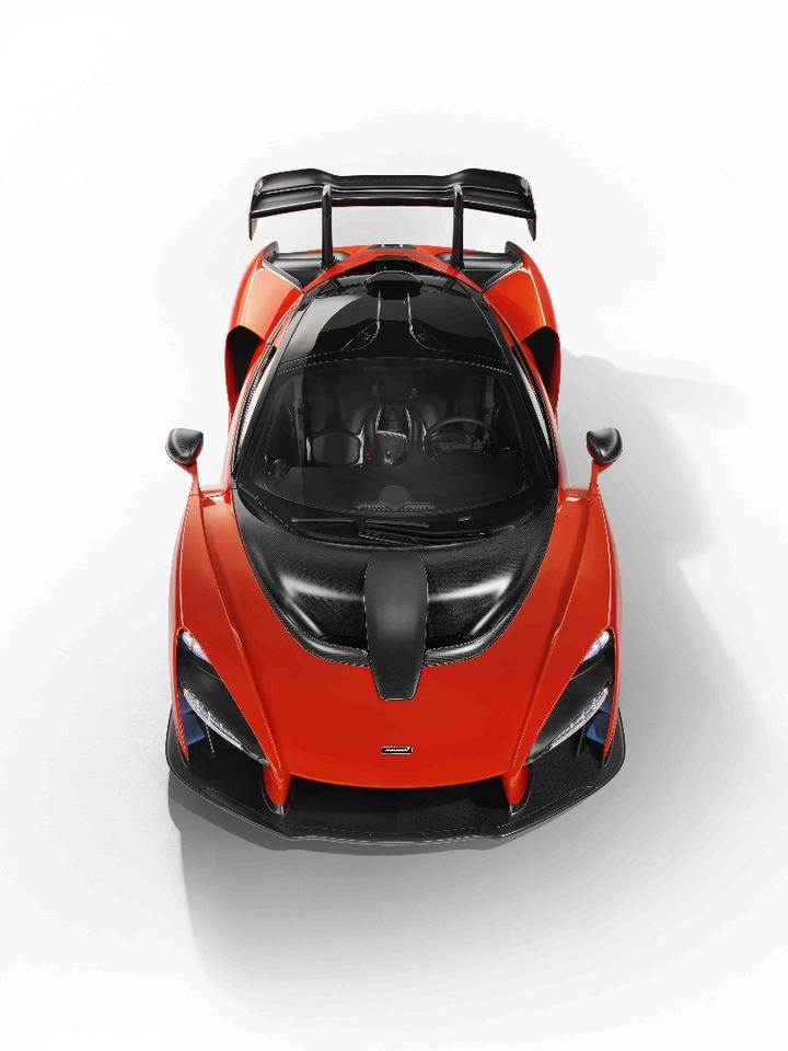 The teardrop shaped silhouette was designed to be as aerodynamic as possible and each line on the car passes through a functional vent or intake