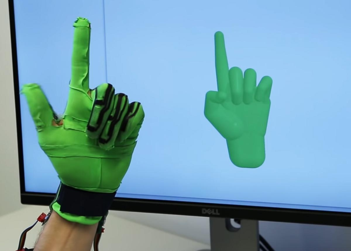 The new glove requires no external cameras or sensors
