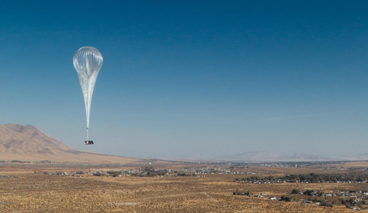 The team notes that the Project Loon balloons are still very much an experimental technology
