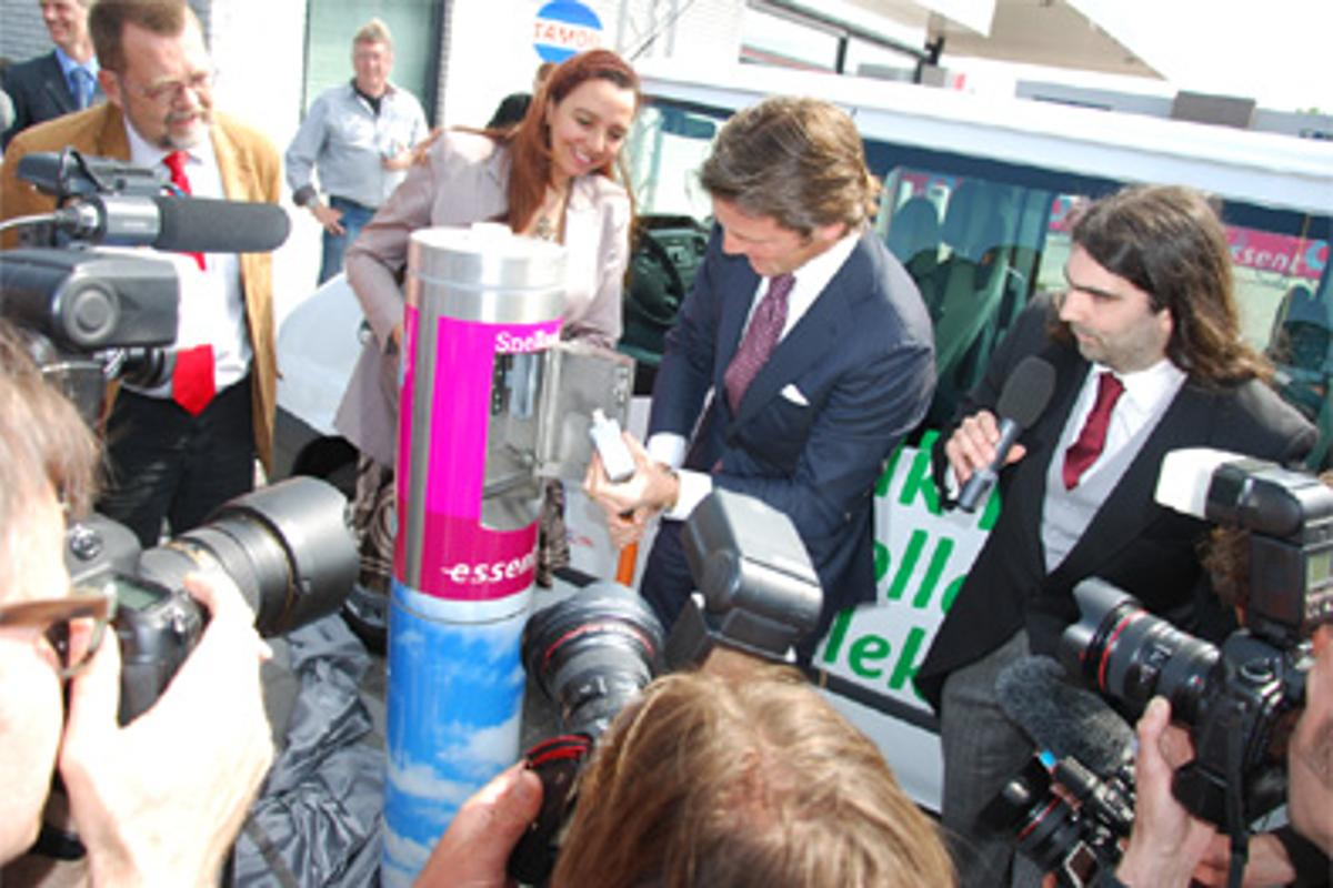 Epyon's fast-charging station opened this Thursday in Leeuwarden, The Netherlands