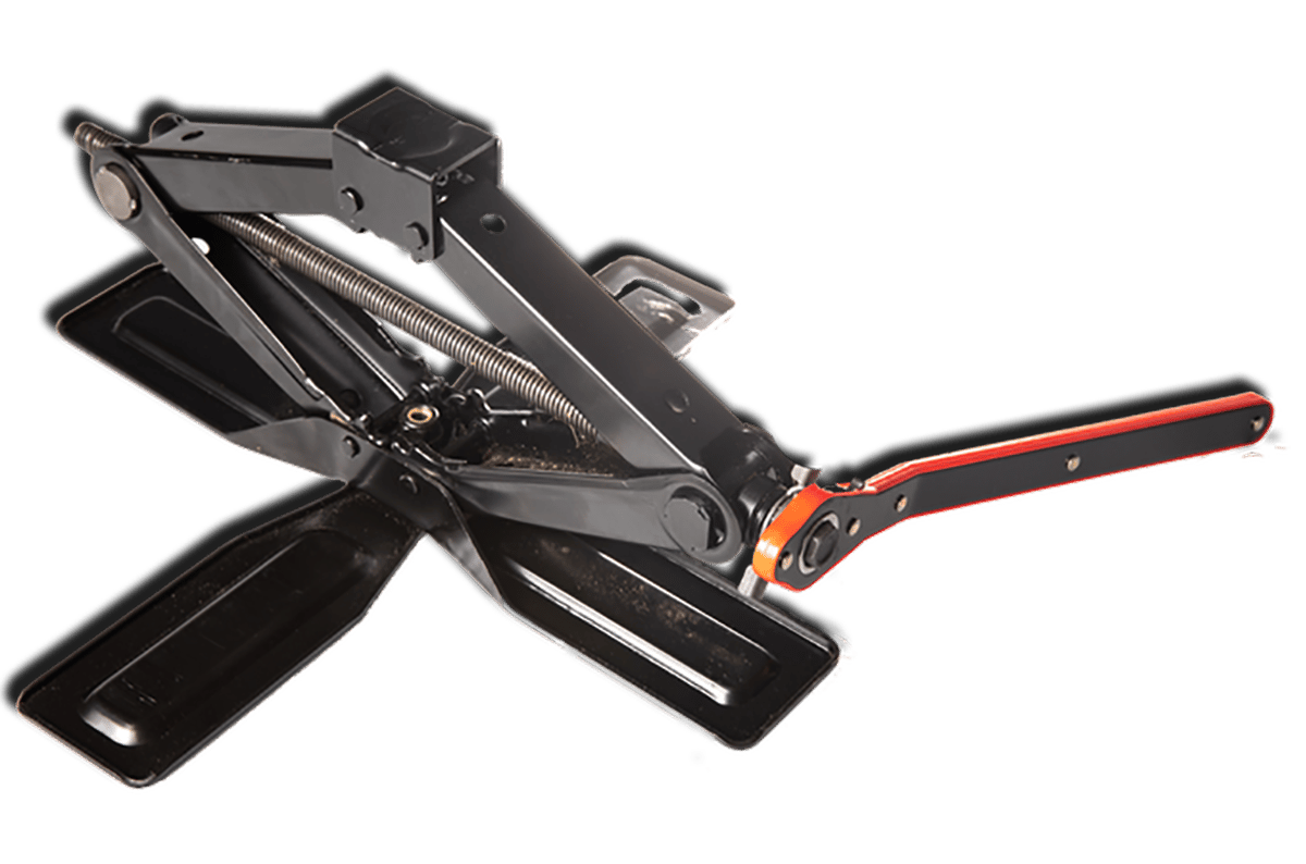 The CrossJack features a cross-shaped base for improved stability