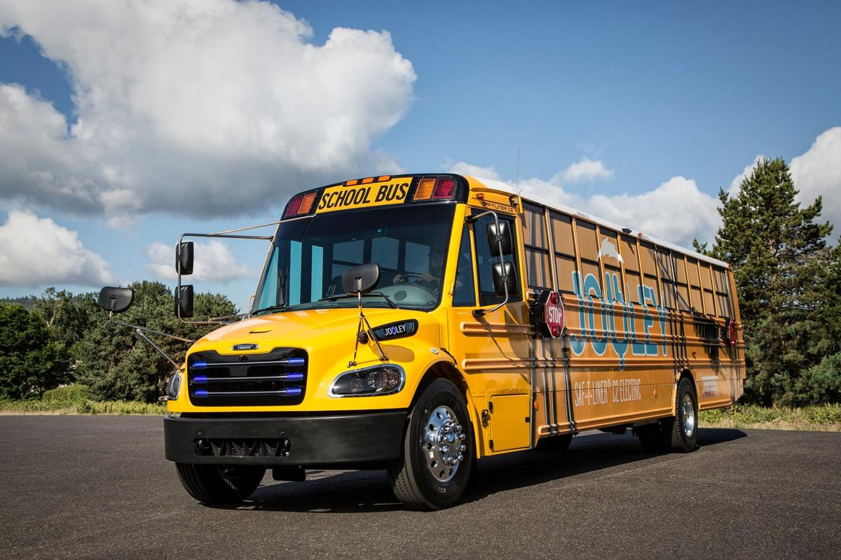 Thomas Built Buses will provide 50 electric school buses to the state of Virginia next year