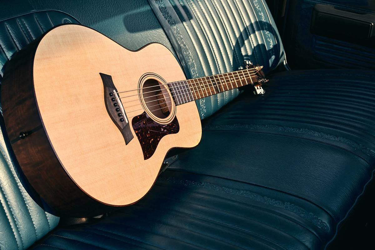 The Taylor GT has been designed to produce a big sound from a compact body