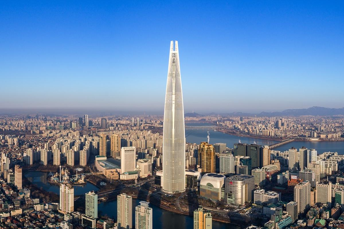 Lotte World Tower, by Kohn Pedersen Fox Associates, has been declared the world's best skyscraper by information specialist Emporis during its annual Skyscraper Awards