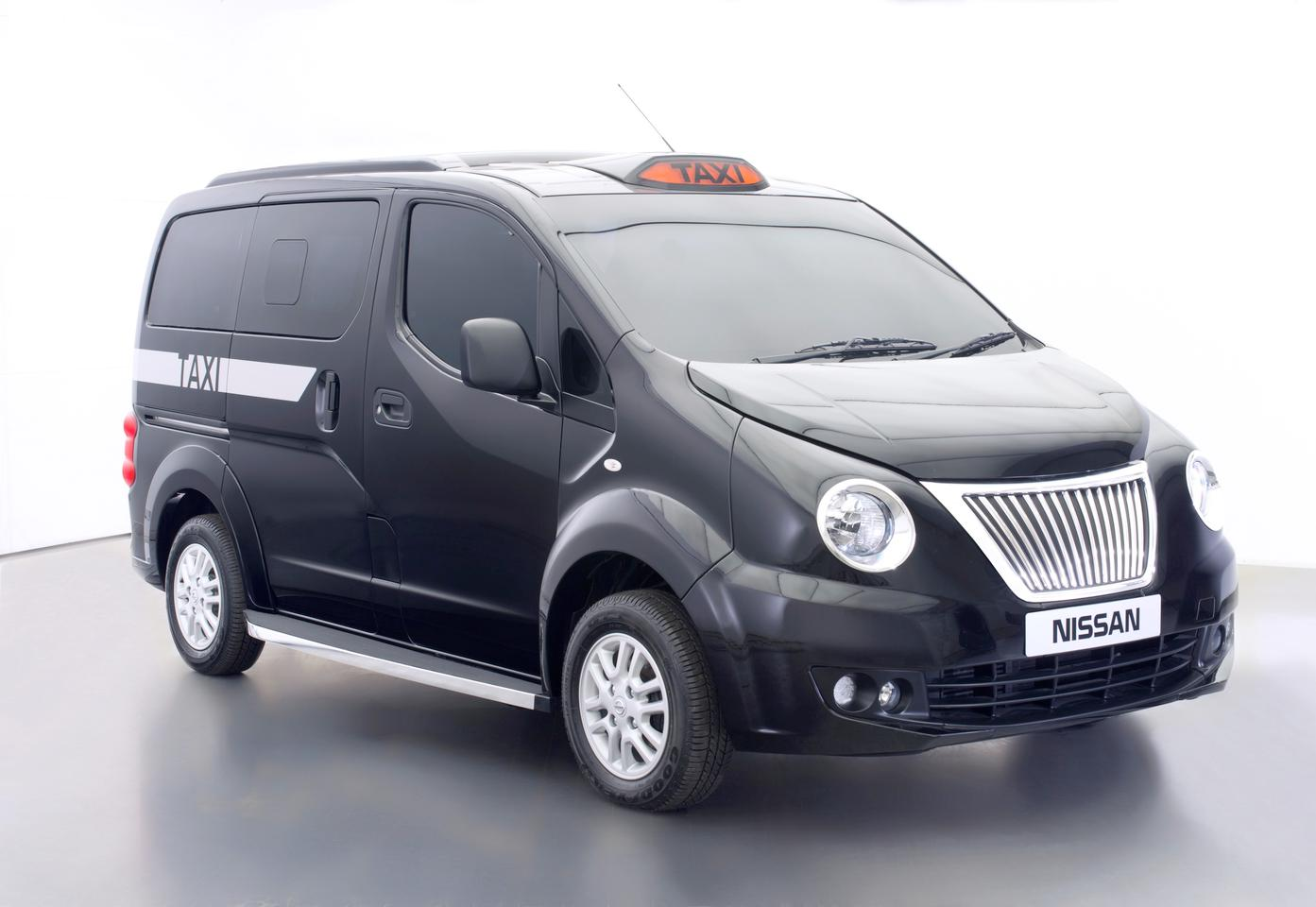 The Nissan Taxi for London was designed by Nissan Design Europe (NDE) in Paddington