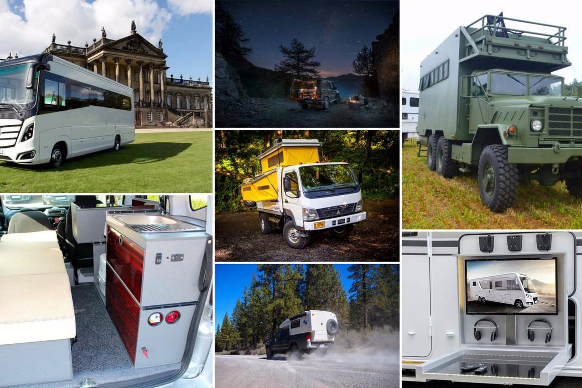 Escaping the everyday: 2016's best motorhomes and adventure