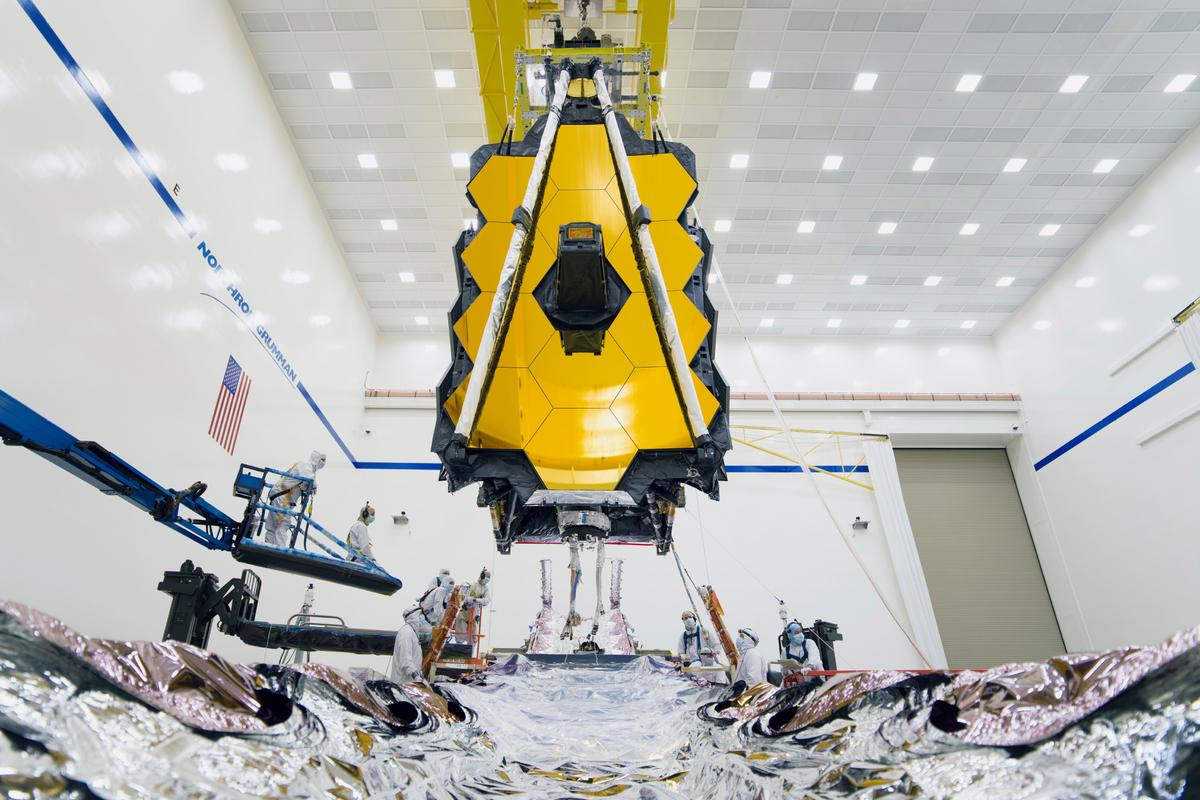 The James Webb Space Telescope is expected to launch in 2021