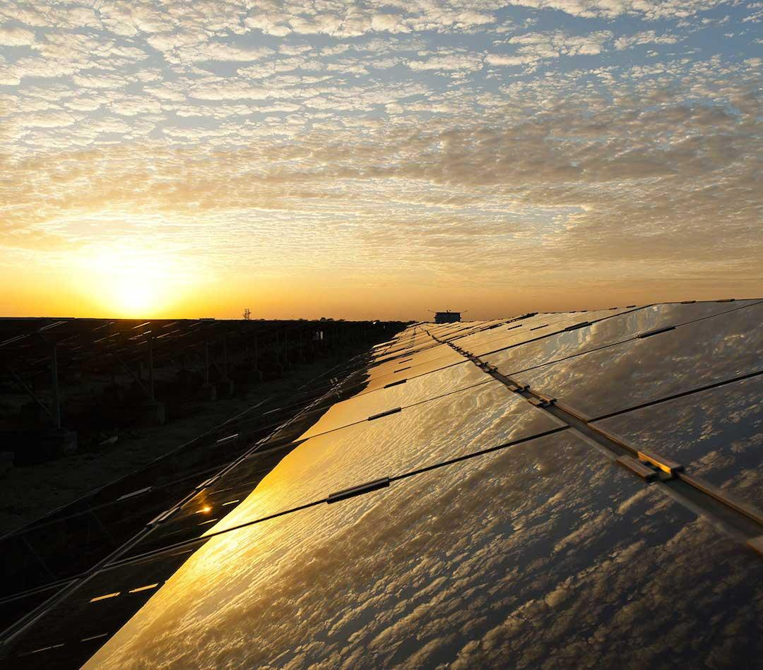Adani has opened the world's largest solar power plant in southern India