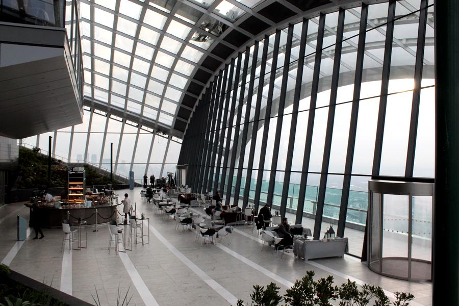 The Sky Garden is a public space at the top of 20 Fenchurch Street (Photo: Stu Robarts/Gizmag)