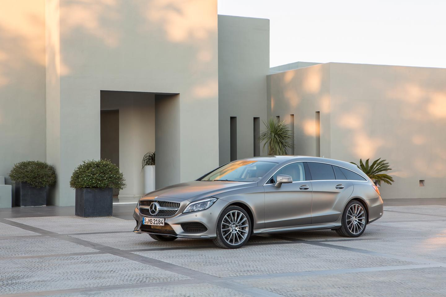The Mercedes CLS Shooting Brake