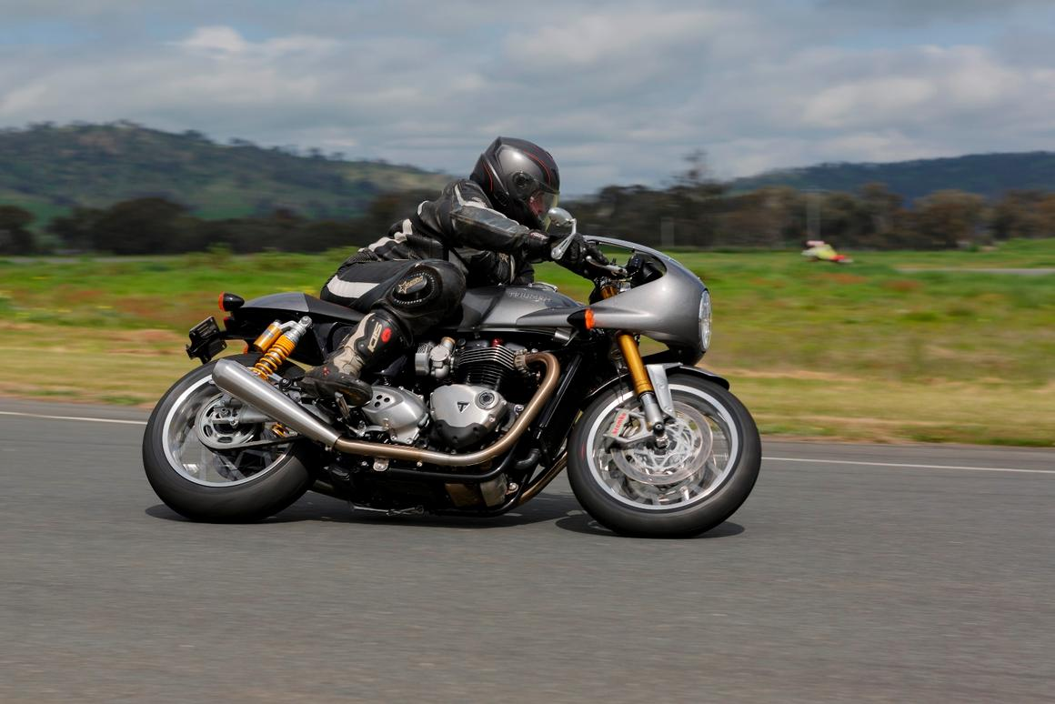 Review: Triumph's Thruxton R is a beauty and a beast